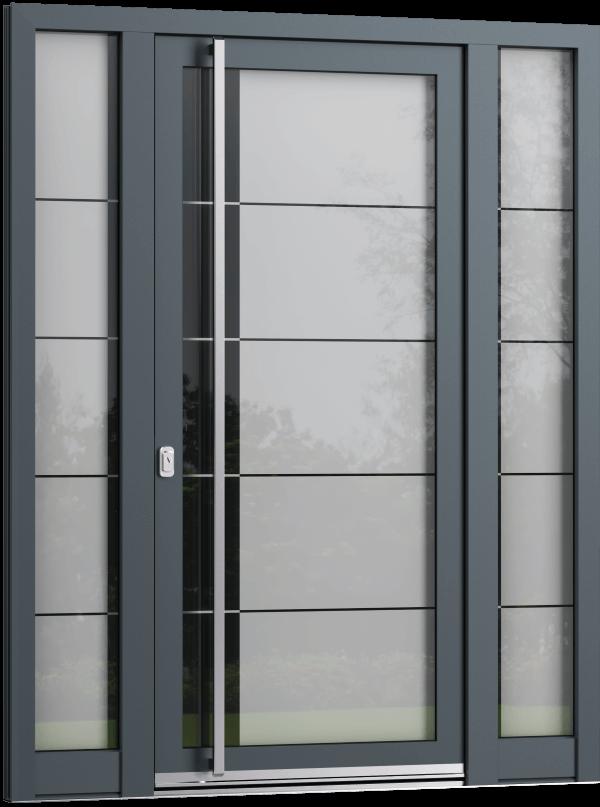 Steklena vhodna vrata linije SELECT